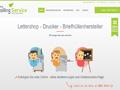 Lettershop Online + Druckerei